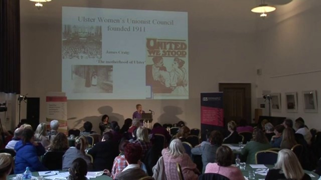 WRDA Lecture – Unionism, Nationalism & Women's Fight for the Vote