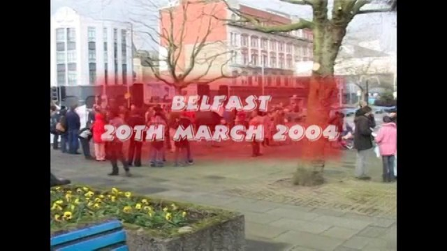 Anti War Protest One Year On (2004)